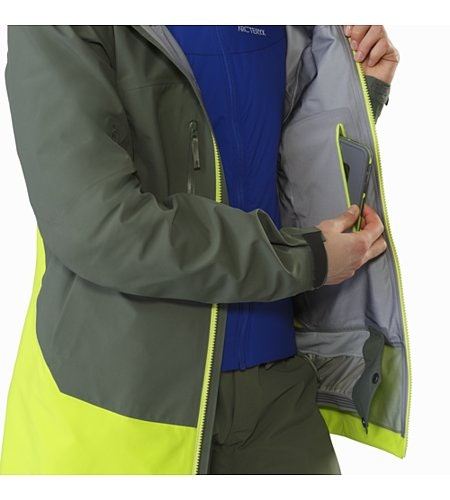 Sentinel LT Jacket Women's Twisted Pine Internal Security Pocket