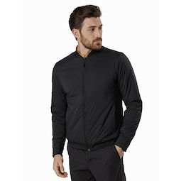 Seton Jacket Black Front View
