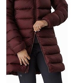 Seyla Coat Women's Flux Two Way Zipper