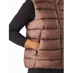 Seyla Vest Women's Jute Hand Pocket