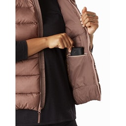 Seyla Vest Women's Jute Internal Security Pocket