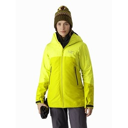 Shashka IS Jacket Women's Ecstatic Sunshine Front View