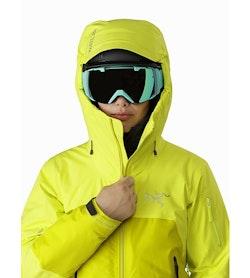 Shashka IS Jacket Women's Ecstatic Sunshine Helmet Compatible Hood