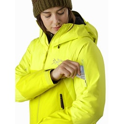 Shashka IS Jacket Women's Ecstatic Sunshine Sleeve Pocket