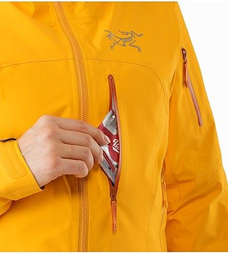 Shashka女装夹克金黄色胸袋