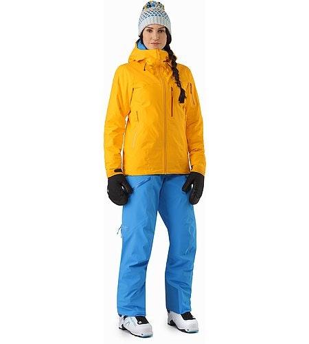 Shashka Jacket Women's Aspen Glow Front View