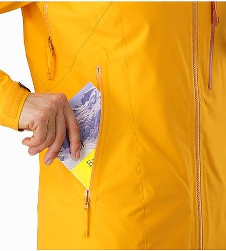 Shashka女装夹克金黄色手袋