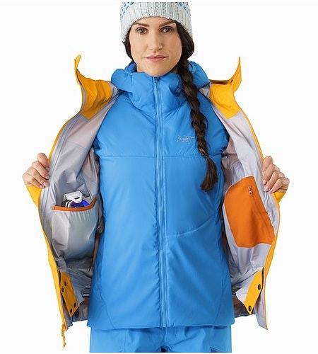 Shashka Jacket Women's Aspen Glow Internal Pockets