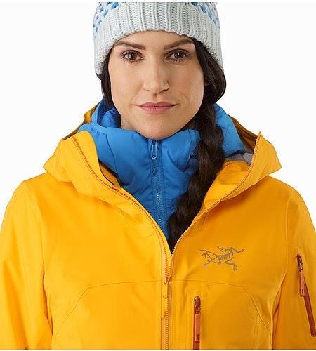Shashka Jacket Women's Aspen Glow Open Collar