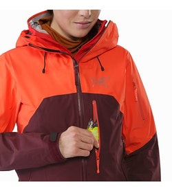 Shashka Jacket Women's Crimson Aura Chest Pocket