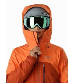 Shashka Jacket Women's Ridge Rise Helmet Compatible Hood