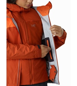Shashka Jacket Women's Ridge Rise Internal Security Pocket