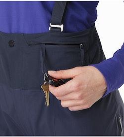 Shashka Pant Women's Black Sapphire Front Pocket