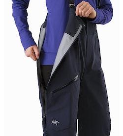 Shashka Pant Women's Black Sapphire Side Zipper