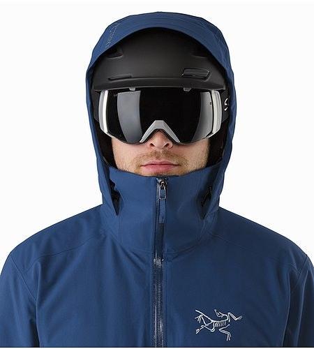 Veste Shuksan Triton Capuche compatible avec un casque Vue de face