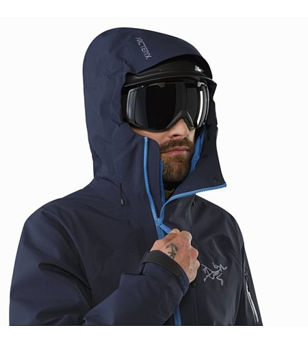 Sidewinder Jacket Tui Helmet Compatible Hood