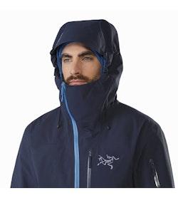 Sidewinder Jacket Tui Hood Front View