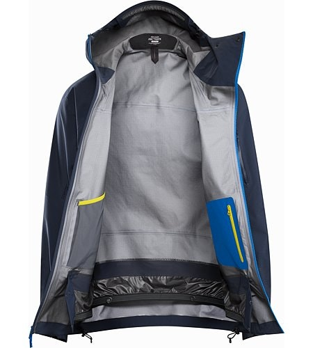 Sidewinder Jacket Tui Internal View