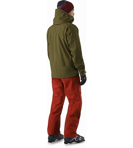Sidewinder SV Jacket Dark Moss Back View