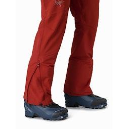 Sigma AR Pant Infrared Lower Leg Zipper Open