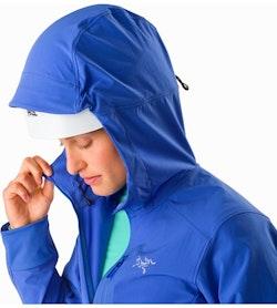 Sigma SL Anorak Women's Iolite Helmet Compatible Hood