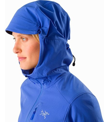 Sigma SL Anorak Women's Iolite Hood Up