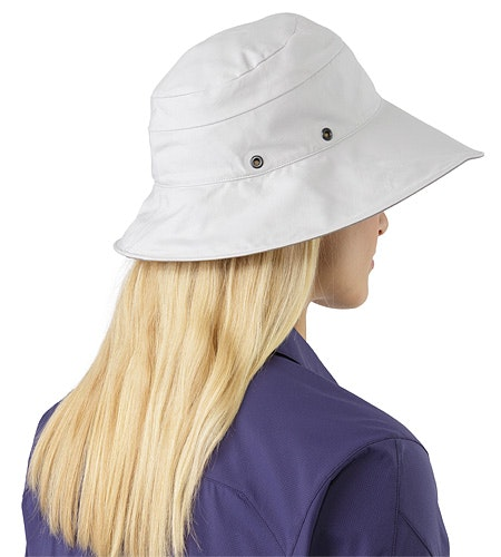 Sinsola Hat Women's Silver Lining Back View
