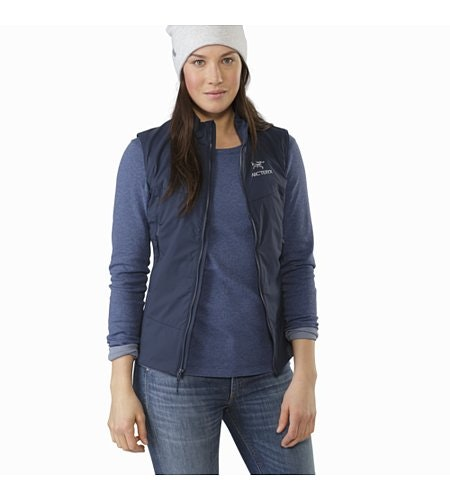 Sirrus Top LS Women's Nightshadow Heather Outfit