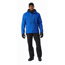 Ski Guide Jacket Rigel Front View