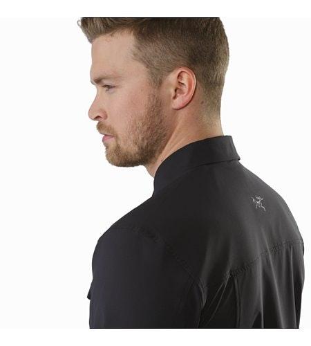 Skyline Shirt LS Black Back Detail