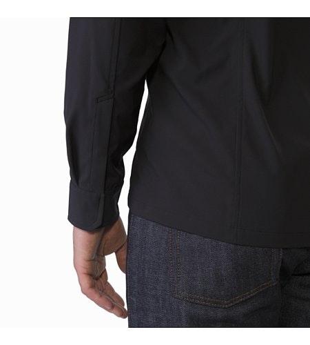 Skyline Shirt LS Black Cuff