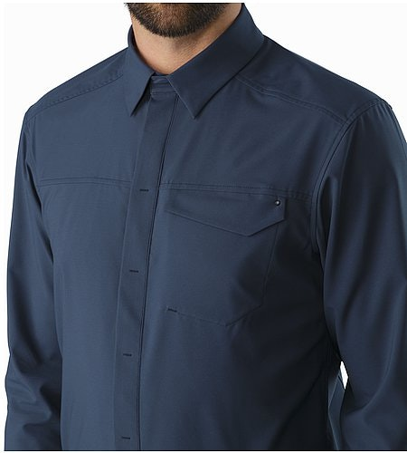 Skyline Shirt LS Nighthawk Collar