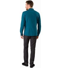 Skyline Shirt LS Odyssea Back View