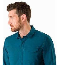 Skyline Shirt LS Odyssea Collar
