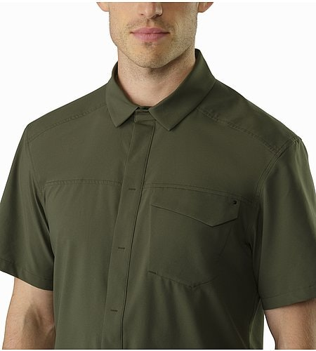 Skyline Shirt SS Gwaii Closed Collar