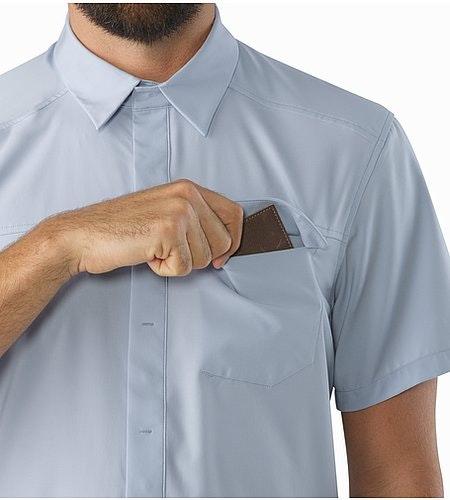 Skyline Shirt SS Vapour Chest Pocket