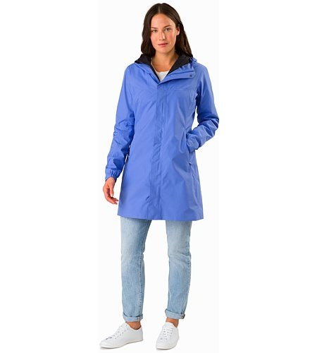 Solano Coat Women's Cloudburst Front View