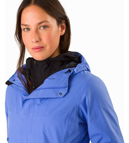 Solano Coat Women's Cloudburst Open Collar
