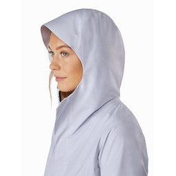 Solano Coat Women's Synapse Hood Side View