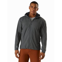 Solano Hoody Cinder Front View