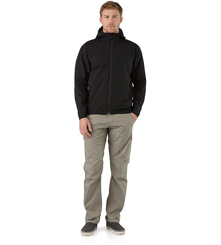Solano Jacket Black Front View