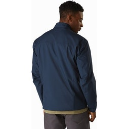 Solano Jacket Cobalt Moon Back View