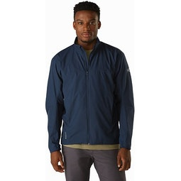 Solano Jacket Cobalt Moon Front View