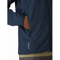 Solano Jacket Cobalt Moon Hand Pocket