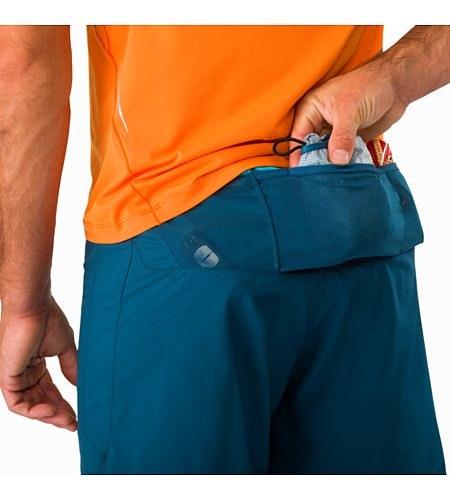 Soleus Short Odyssea External Pockets Back