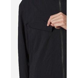 Spere LT Hoody Black Hand Pocket 1
