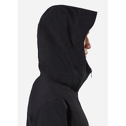 Spere LT Hoody Black Hood Up