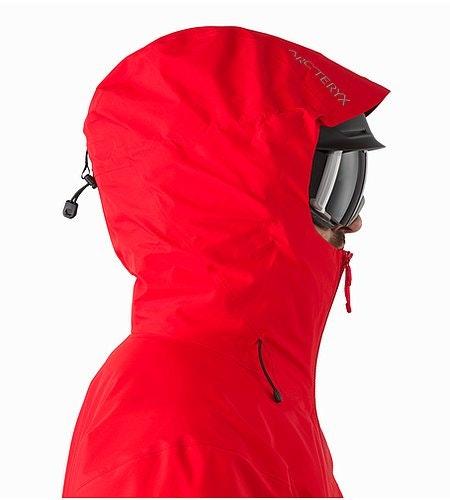 Sphene Jacket Matador Helmet Compatible Hood Side View