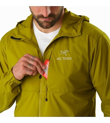 Squamish Hoody Olive Amber Chest Pocket