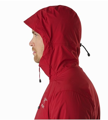 Squamish Hoody Red Beach Hood Side View